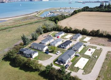 Thumbnail 2 bed mobile/park home for sale in Gate Farm Road, Shotley Gate, Ipswich
