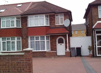 Thumbnail 4 bed terraced house to rent in Holyrood Gardens, Kingsbury