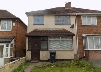 Thumbnail 3 bed semi-detached house to rent in Meadthorpe Road, Great Barr, Birmingham
