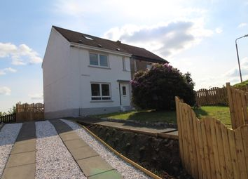 Thumbnail 3 bed semi-detached house for sale in Nelson Avenue, Coatbridge