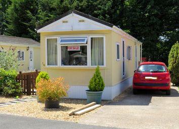 Thumbnail Mobile/park home for sale in Baddesley Road, North Baddesley, Southampton