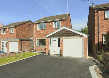 Thumbnail 3 bed detached house for sale in Owlston Close, Eastwood, Nottinghamshire