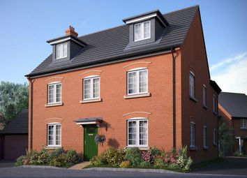 "Thumbnail 5 bed detached house for sale in ""The Milton"" at Bedford Road, Great Barford, Bedford"