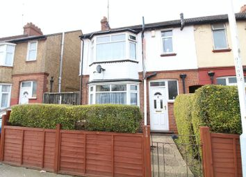 Thumbnail 3 bedroom end terrace house for sale in Beechwood Road, Leagrave, Luton