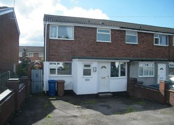 Thumbnail 3 bedroom end terrace house for sale in Chase Road, Burntwood