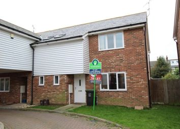 Thumbnail 4 bedroom semi-detached house to rent in Parish Close, Broadstairs