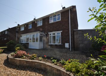 Thumbnail 3 bed semi-detached house for sale in Old Wood Road, Pensby, Wirral