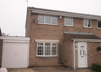 Thumbnail 3 bed property to rent in Nidderdale Road, Wigston