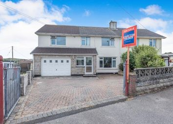Thumbnail 5 bed semi-detached house for sale in North Roskear, Camborne, Cornwall