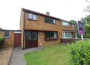 Thumbnail 3 bed semi-detached house for sale in Harlech Place, Milton Keynes