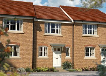 "Thumbnail 2 bedroom terraced house for sale in ""The Amberley"" at Priory Fields, Wookey Hole Road, Wells, Somerset, Wells"