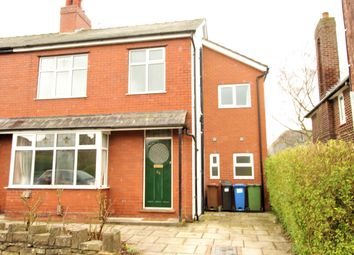 Thumbnail 4 bed semi-detached house to rent in Brindley Avenue, Marple, Stockport