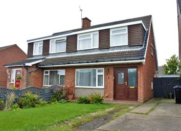 3 bed semi-detached house for sale in Ashley Drive, Gonerby Hill Foot, Grantham NG31