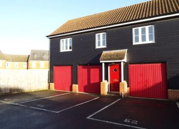 Thumbnail 2 bed flat for sale in Watton, Thetford, Norfolk