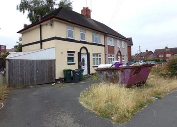 Thumbnail 3 bed semi-detached house for sale in Remembrance Road, Wednesbury