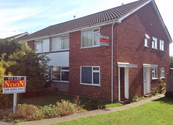 Thumbnail 2 bedroom maisonette to rent in Larkspur Way, West Ewell, Epsom