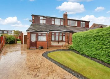 Thumbnail 3 bed semi-detached bungalow for sale in Trent Way, Kearsley, Bolton