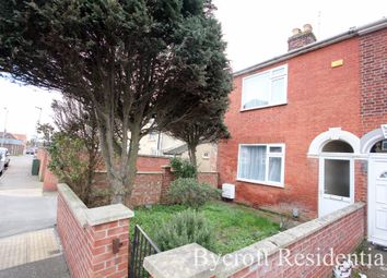 Thumbnail 3 bed end terrace house for sale in Churchill Road, Great Yarmouth