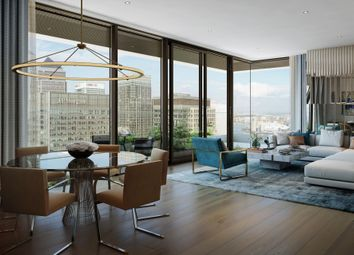 Thumbnail 2 bed flat for sale in Wardian, East Tower, London