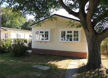 Thumbnail 2 bedroom mobile/park home for sale in Orchard Park, Shouldham, King's Lynn