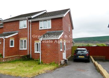 Thumbnail 2 bed end terrace house for sale in Oakview Court, Blaenavon, Torfaen