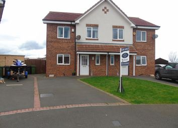 Thumbnail 3 bedroom semi-detached house for sale in Latimer Way, Newbiggin-By-The-Sea