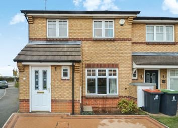 Thumbnail 3 bed town house for sale in 1 Minstrel Close, Hucknall, Nottingham