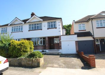 Thumbnail 3 bed semi-detached house for sale in Tudor Gardens, Romford
