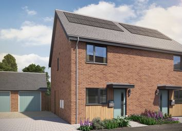 Thumbnail 2 bed semi-detached house for sale in Swans Nest, Brandon Road, Swaffham