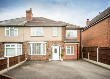 Thumbnail 4 bed semi-detached house for sale in Chaddesden Park Road, Chaddesden, Derby