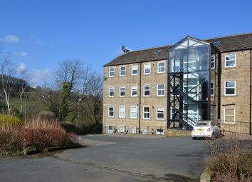 Thumbnail 2 bed flat for sale in Nabb View, Underbank Old Road, Holmfirth