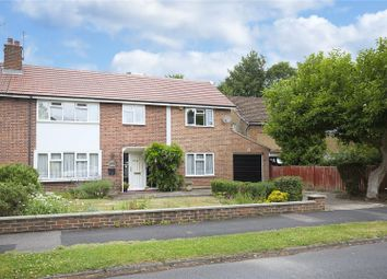 Thumbnail 4 bedroom semi-detached house for sale in Couchmore Avenue, Esher, Surrey