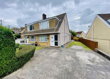 Thumbnail 3 bed semi-detached house for sale in Howells Road, Dunvant, Swansea