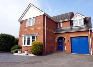 Thumbnail 4 bed detached house for sale in Packwood Close, Nuneaton