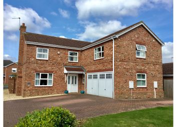 Thumbnail 5 bed detached house for sale in The Rowans, Saxilby