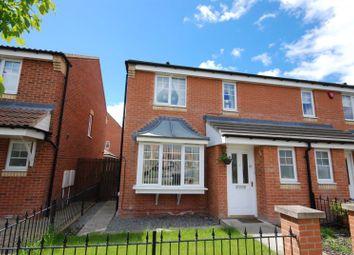 Thumbnail 3 bedroom semi-detached house for sale in Rothbury Drive, Ashington