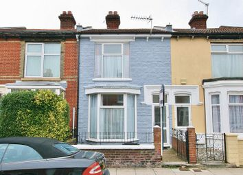 Thumbnail 3 bed terraced house for sale in Chichester Road, Portsmouth
