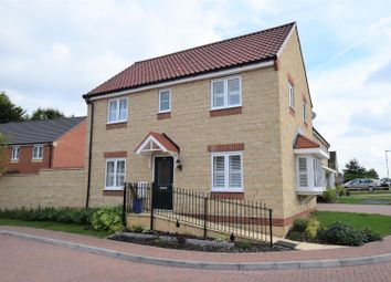Thumbnail 3 bed detached house for sale in North Brook Close, Greetham, Oakham