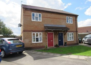 Thumbnail 2 bed semi-detached house to rent in Bishops Close, Louth