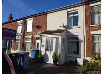Thumbnail 2 bed terraced house for sale in Parliament Road, Ipswich