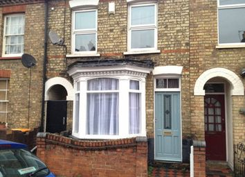 Thumbnail 4 bed end terrace house to rent in Edward Road, Bedford
