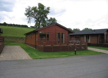 Thumbnail 2 bed lodge for sale in Tunstell, North Yorkshire