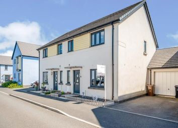 Thumbnail 3 bed semi-detached house for sale in Saltram Meadow, Plymstock, Plymouth