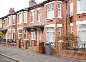 3 bed terraced house for sale in Spencer Avenue, Whalley Range, Manchester M16