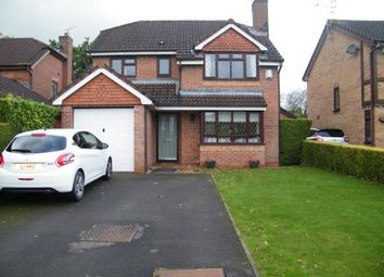 Thumbnail 4 bed detached house for sale in Badger Close, Winsford, Cheshire, England