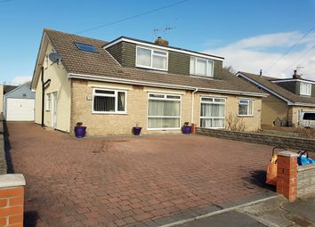 Thumbnail 4 bed semi-detached bungalow for sale in Fulmar Road, Nottage, Porthcawl