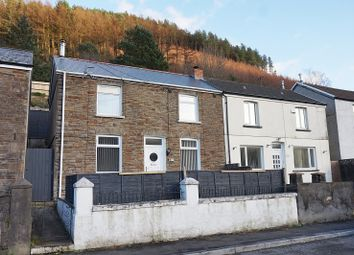 Thumbnail 3 bed semi-detached house for sale in Glyn Street, Ogmore Vale, Bridgend, Bridgend County.