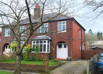 Thumbnail 3 bed semi-detached house for sale in Fairfield Avenue, Bollington, Macclesfield, Cheshire