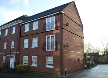 Thumbnail 2 bed flat for sale in Box Close, Woodville, Swadlincote