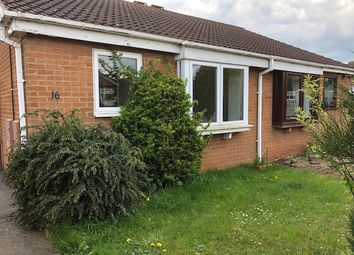 Thumbnail 2 bed bungalow for sale in Keats Drive, Hucknall